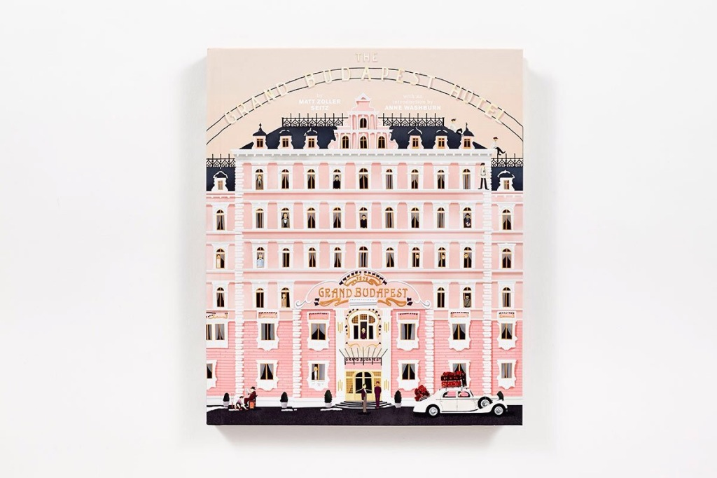 Wes Anderson Coffee Table Book.The Wes Anderson Collection The Grand Budapest Hotel Oliver Ouest